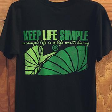 """Aloha Grown """"Keep Life Simple"""" Tee"""