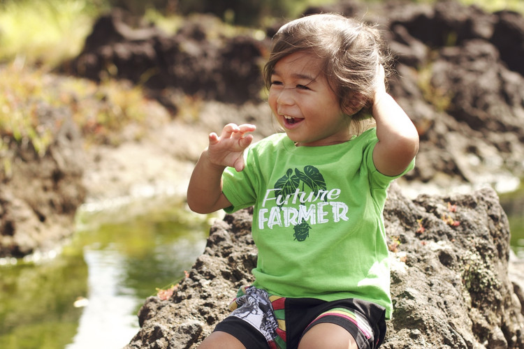"Aloha Grown ""Future Farmer"" Infant/Toddler Tee"