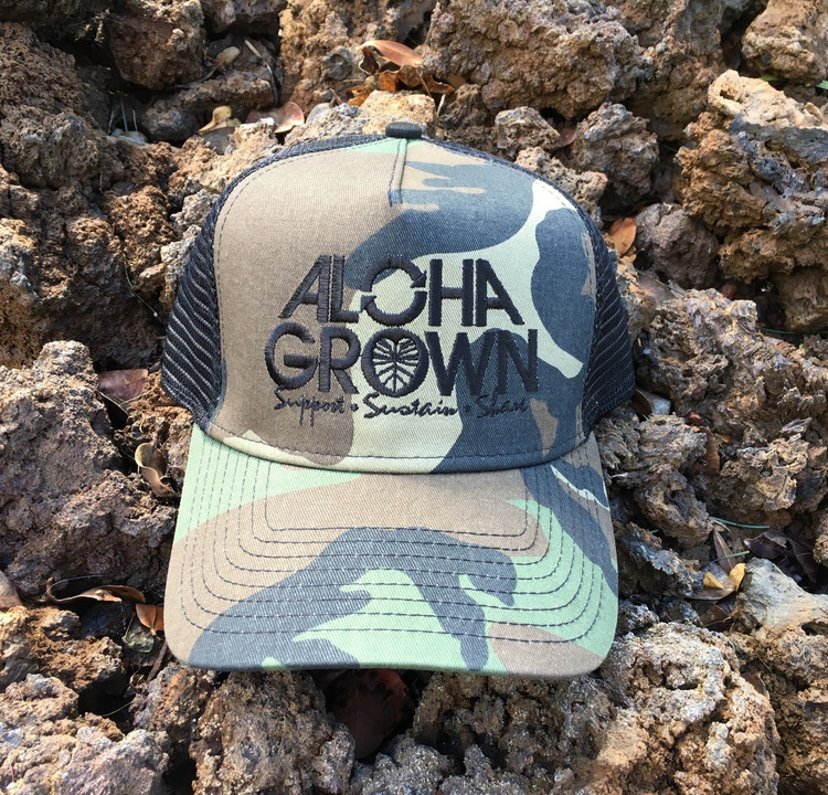 "Aloha Grown New Era ""Camo"" Cap"