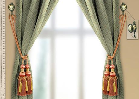 Catherine Tassel Tiebacks And Wall Hooks Set Roomsbeautiful Com