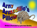 Arny Armadillos Pillow by Lynne Anne Bendoly