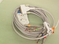 ECG/EKG CABLE FOR EDAN NIHON KOHDEN , 10 LEADS , 4MM BANANA