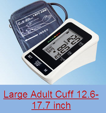 EastShore bp1305l TALKING Digital arm blood pressure monitor Large LCD+features (120 Memory , WHO indicator), LARGE ADULT CUFF at Sears.com