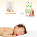 Wireless Thermometer Body Temperature Continuous Monitor for iPhone/iPad/iOS