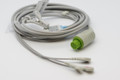 1 PIECE Cable with 3 leads Datex Ohmeda GE S5 (green connector , without resistor)