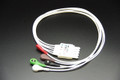 ECG EKG 5 Leads HP style leads wire,  snap  head  for Philips H/P Viridia Merlin
