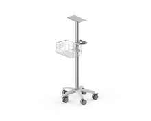 Patient monitor roll stand