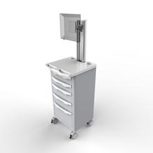 nurse trolley, with drawer
