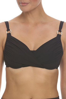 Brown Underwire Cup Sized Top BR-142