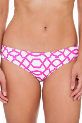 Pink and White Hipster Pant PA-206