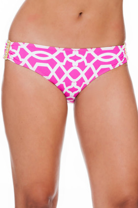 Pink and White Hipster Pant PA-236