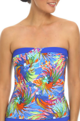 Floral Twist Front Bandini WI-108