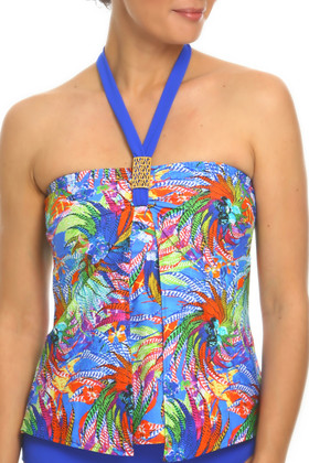 Floral Loose Fit Tankini WI-144