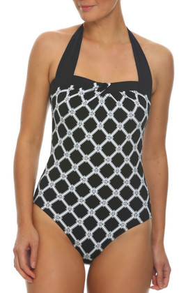 Black and White One Piece AN-328