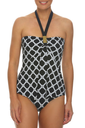 Black and White One Piece AN-344
