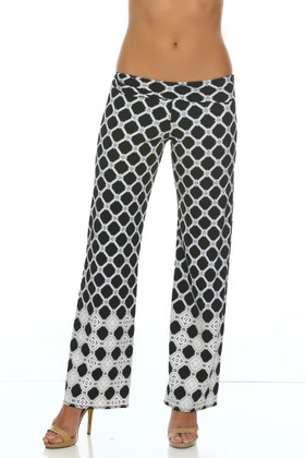 Black and White Yoga Pant AN-440