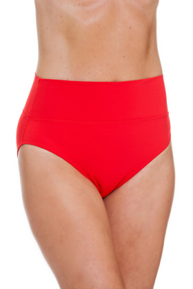 Red High-Rise Pant RE-213