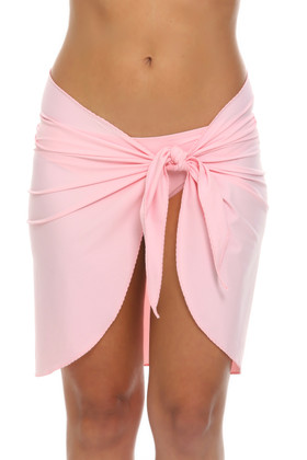 Light Pink Wrap Cover Up BL-403