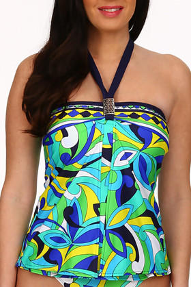 Floral Loose Fit Tankini BB-144