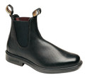 Blundstone 068 The Chisel Toe Black. Simplicity in itself. This plain round toe classic Blundstone boot looks more or less, like the human foot.  It goes everywhere!   Wear it like you live, with your jeans, pants and skirts.