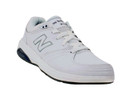 New Balance WW813WT White. Perfect for those who push past their step count on the job or during their workout. The New Balance 813 combines supportive cushioning and a soft leather upper to cradle your foot for the duration.