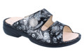 Finn Comfort Sansibar Ladies Garden Night Black Floral Print