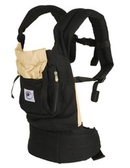 Ergo Baby Carrier - Black/Camel