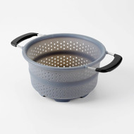 OXO 1144800 Silicone Collapsible Colander (Gray)