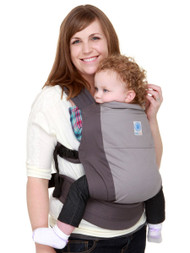 Moby GO baby carrier - Grey