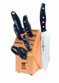 Roll over image to zoom in      Zwilling J.A. Henckels Twin Signature 7-Piece Knife Block Set
