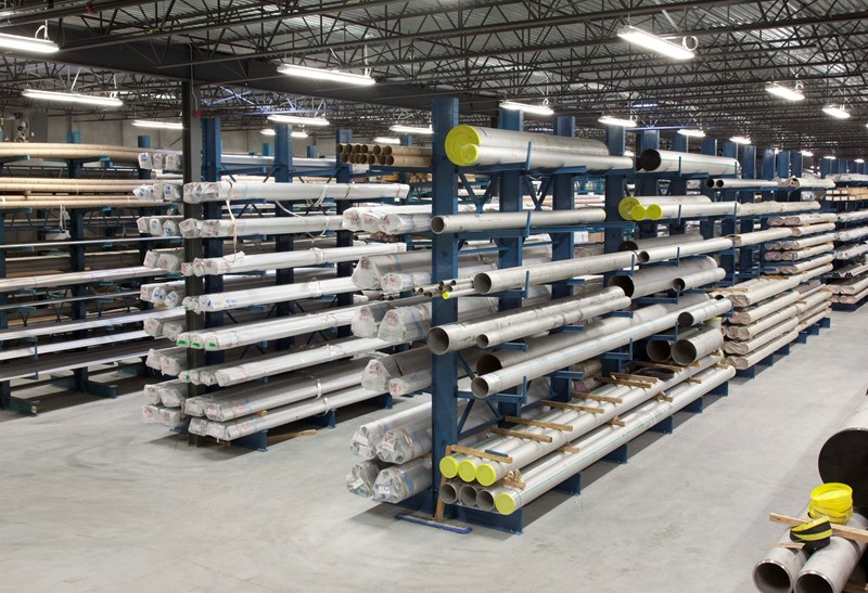 Design, Supply and Installation of Custom Cantilever Racking