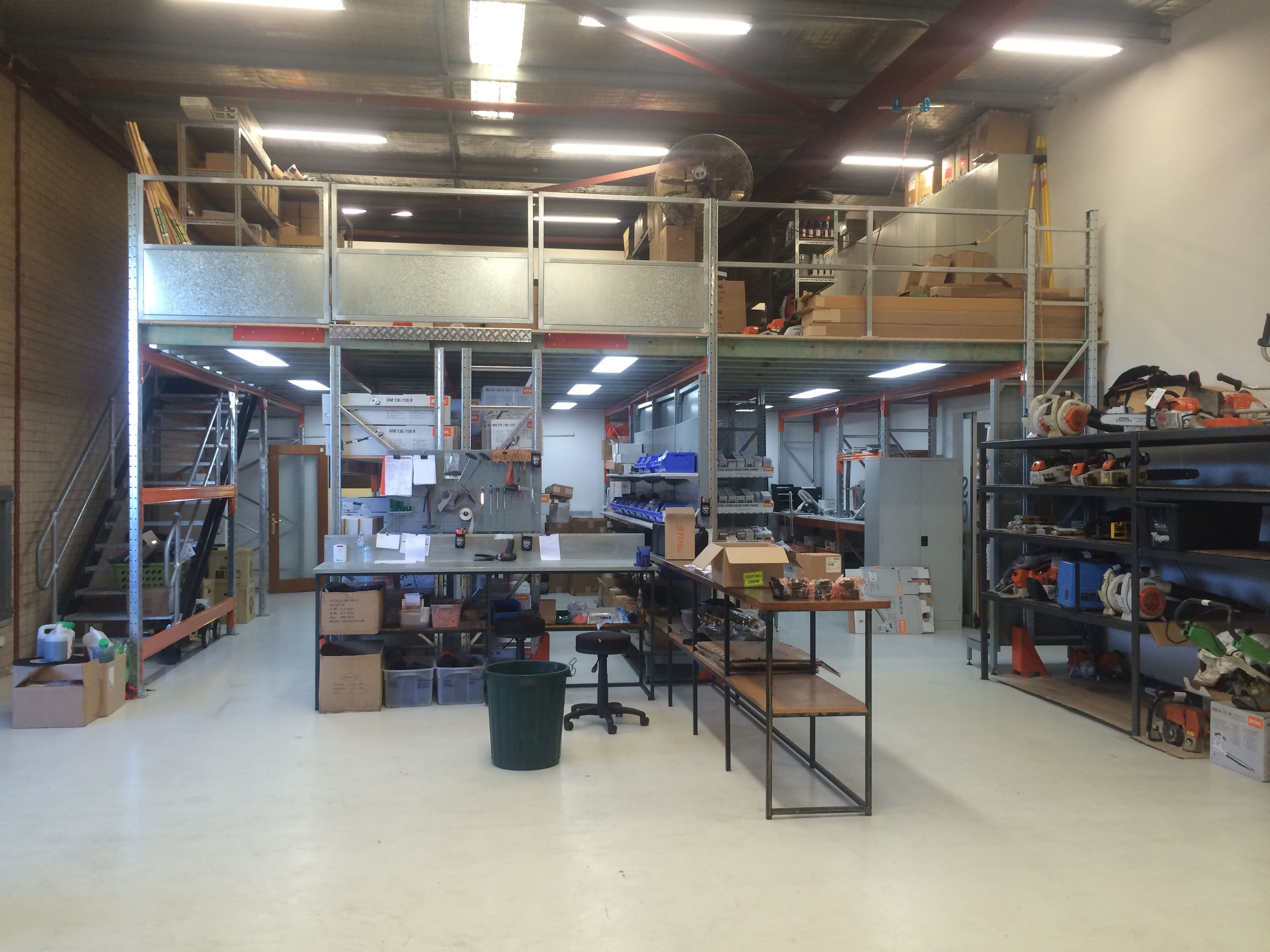 Supply and install rack supported mezzanine floor