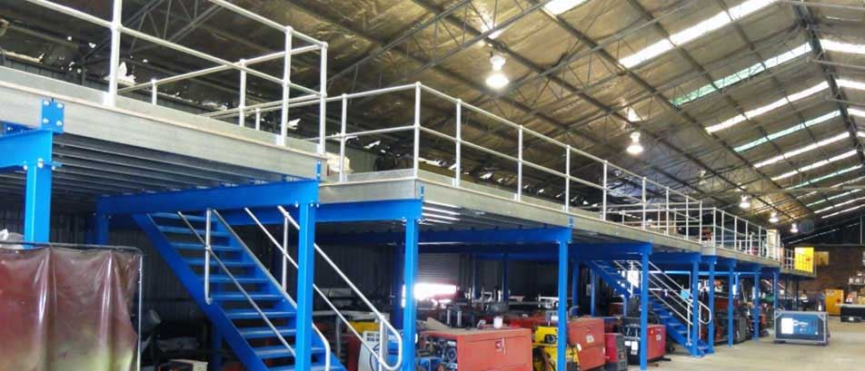 Pallet Racking Installation Design Services Blue