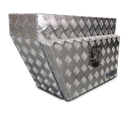 Underbody Aluminium Checker Plate Tool Box for UTE