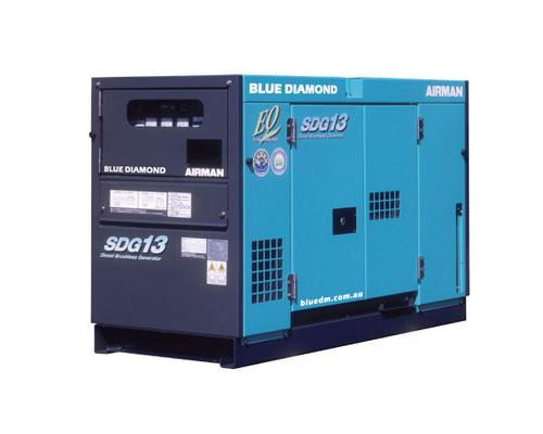 AIRMAN SDG13 Diesel Generator 10.5 KVA, 3 PHase, 4 Wire