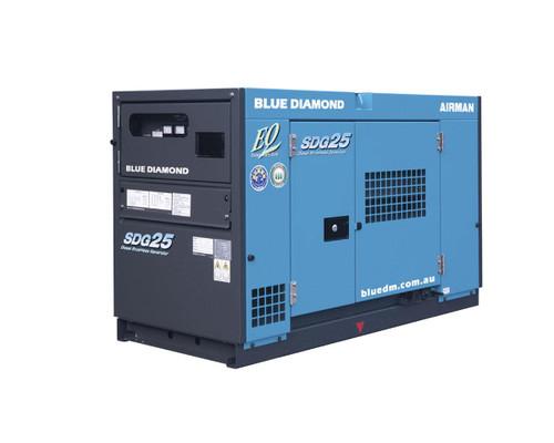Airman SDG25 Diesel Generator  20KVA 3 Phase 4 Wire