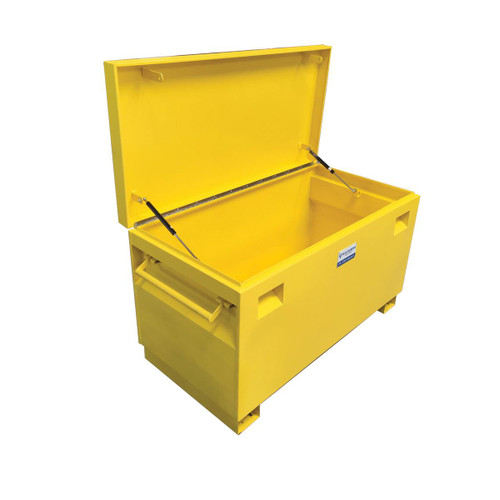Steel Job Site Tool Chest- Yellow Powder Coated