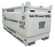 Diesel Fuel Tank 2000L Self Bunded Baffled