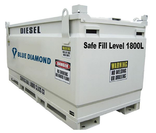 2000 Litre Fuel Tank Self bunded for Diesel, Petrol