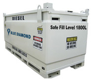 2000 Litre Fuel Tank Self bunded for Diesel, Petrol