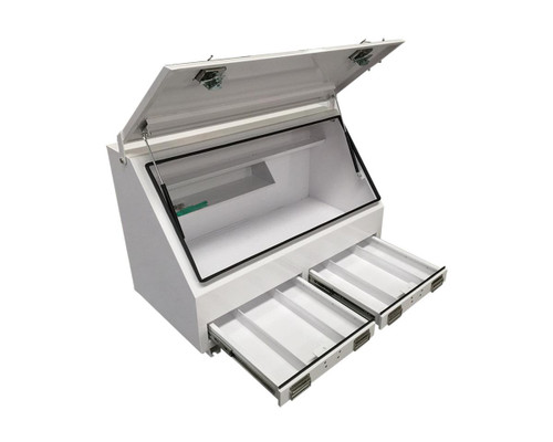 2 Draw Steel Tool Box for UTE or Truck