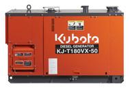 Kubota Generator KJT180VX 18KVA 3 Phase