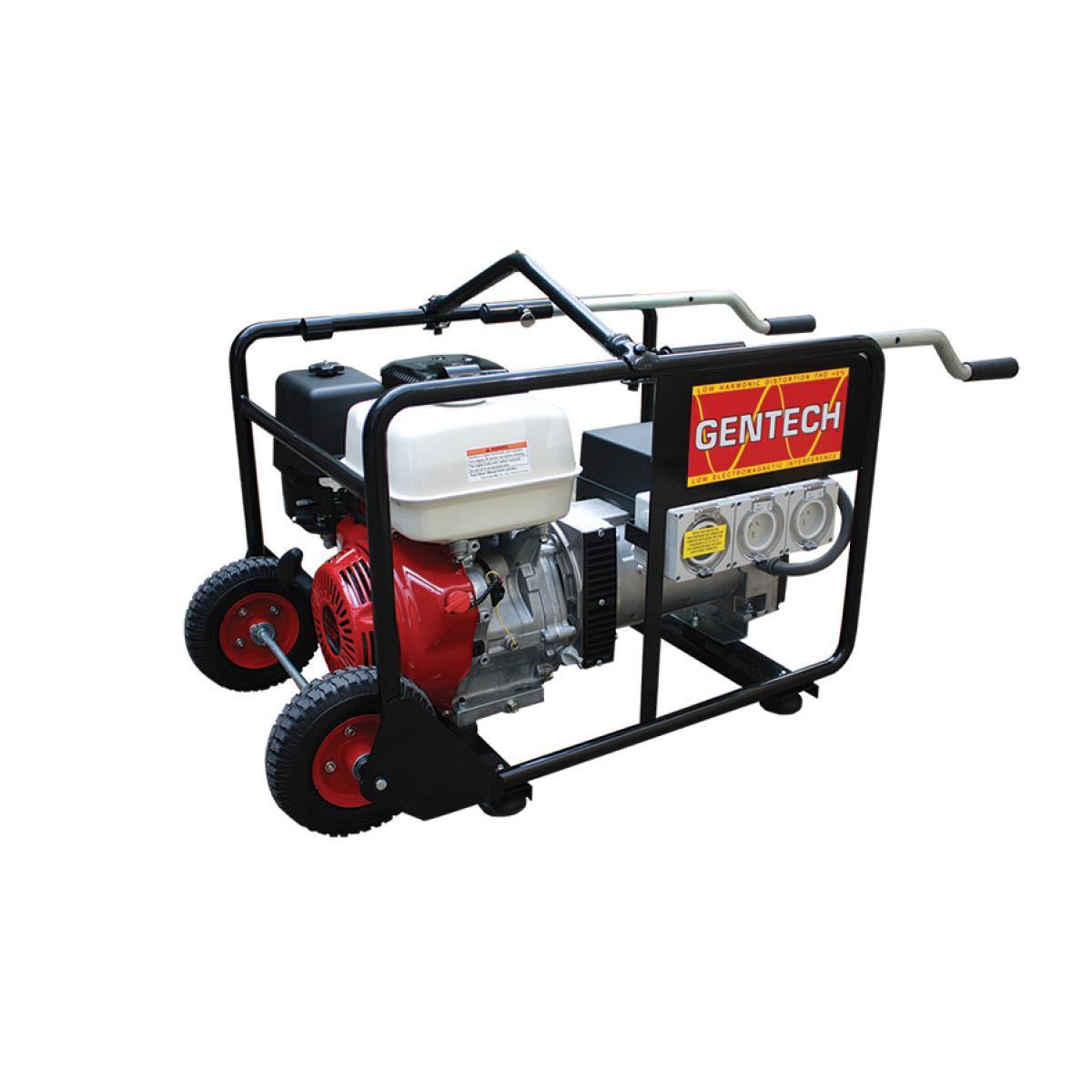 Portable honda generator 8kva petrol generator blue for Generator with honda motor