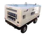 Diesel Air Compressor - 390 CFM Used - Portable