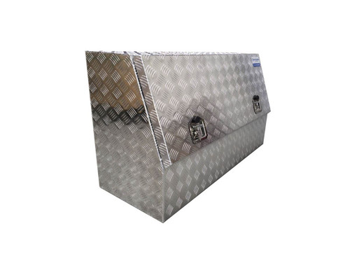 aluminium tool box- half door for secure storage
