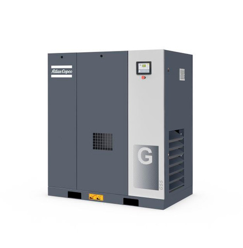 Rotary Screw Air Compressor G37- 50HP, 225.4CFM, 123PSI- Atlas Copco
