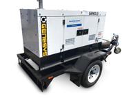 10 KVA Diesel Generator 240V & Trailer Package