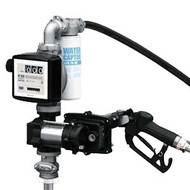 PUMP 12V DC PIUSI 50lpm EX50 Kit comprising Pump, Auto Nozzle, Telescopic Suction Tube, 4m Delivery Hose, K33 Meter