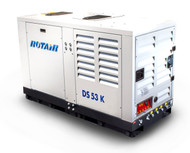 Portable Silent Box Compressor 49HP 185CFM - ROTAIR DS 53 K
