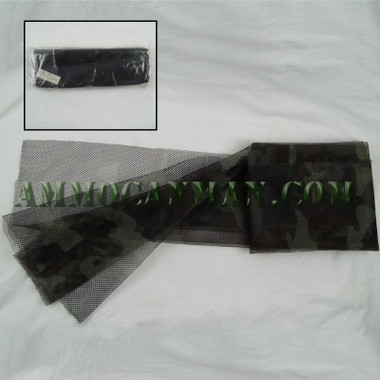 Individual Camo Netting Cover Woodland Camo